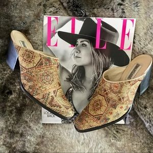 Matisse Free People Tapestry Ankle Boot Wore1X 6.5